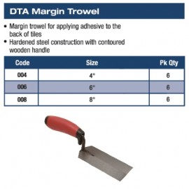 MARGIN TROWEL 4""