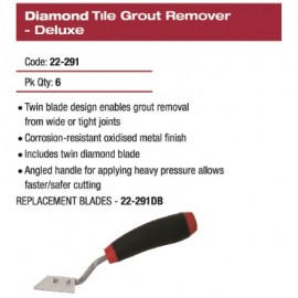 GROUT TILE REMOVER