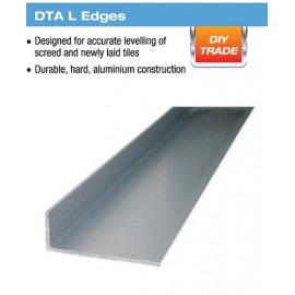 "ALUM L EDGE SCREED 18"" MATT SILVER"