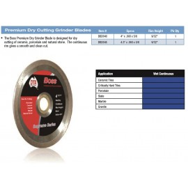 "DIAMOND BLADE DRY 4"" SUPREME"