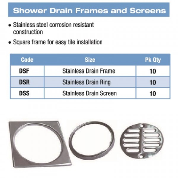 Shower Drain Screen