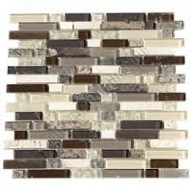 FANTASTIC MOSAIC GLASS TILE