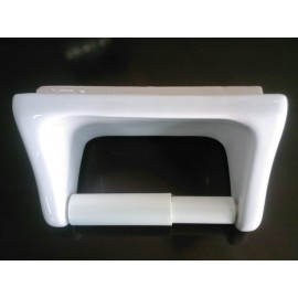 "PAPER HOLDER, THIN SET WHITE 6.7"" X 4.9"""